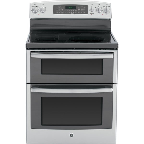ge profile 30 inch freestanding range with double oven free shipping today. Black Bedroom Furniture Sets. Home Design Ideas