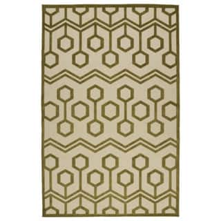 Indoor/Outdoor Luka Olive Zig-Zag Rug (8'8 x 12'0)|https://ak1.ostkcdn.com/images/products/10106144/P17246588.jpg?impolicy=medium