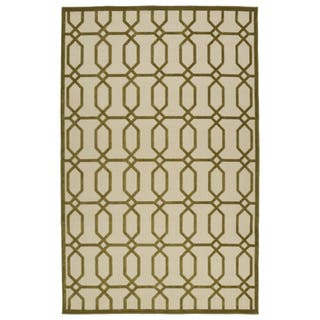 Indoor/Outdoor Luka Olive Geo Rug (8'8 x 12'0)|https://ak1.ostkcdn.com/images/products/10106306/P17246700.jpg?impolicy=medium