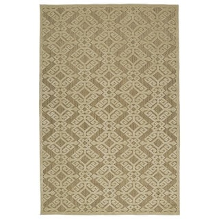 Indoor/Outdoor Luka Khaki Nomad Rug (8'8 x 12'0)