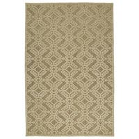 "Indoor/Outdoor Luka Khaki Nomad Rug - 8'8"" x 12'"