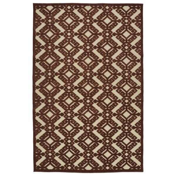 "Indoor/Outdoor Luka Terracotta Nomad Rug (8'8 x 12'0) - 8'8"" x 12'"