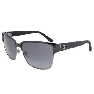 Gucci Women's 4263/S Metal Rectangular Sunglasses
