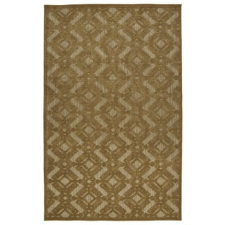 Indoor/Outdoor Luka Light Brown Nomad Rug (8'8 x 12'0)|https://ak1.ostkcdn.com/images/products/10106411/P17246757.jpg?impolicy=medium