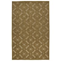 "Indoor/Outdoor Luka Light Brown Nomad Rug - 8'8"" x 12'"