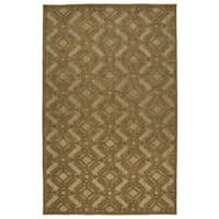 Indoor/Outdoor Luka Light Brown Nomad Rug - 7'10 x 10'8