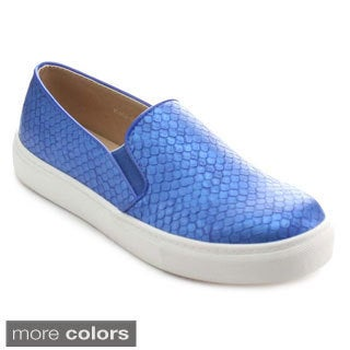 Miim Women's Kola-01 Elastic Insert Slip-on Sneakers