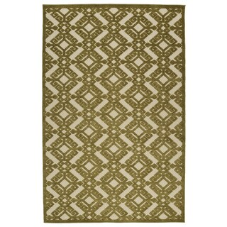 Indoor/Outdoor Luka Olive Nomad Rug (8'8 x 12'0)|https://ak1.ostkcdn.com/images/products/10106495/P17246773.jpg?_ostk_perf_=percv&impolicy=medium