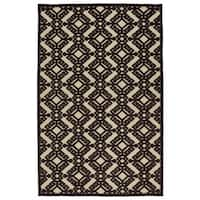 "Indoor/Outdoor Luka Brown Nomad Rug - 8'8"" x 12'"