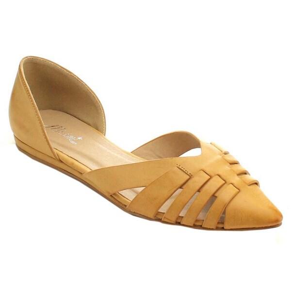 Miim Cast-01 Women's Pointed Toe D'orsay Flats