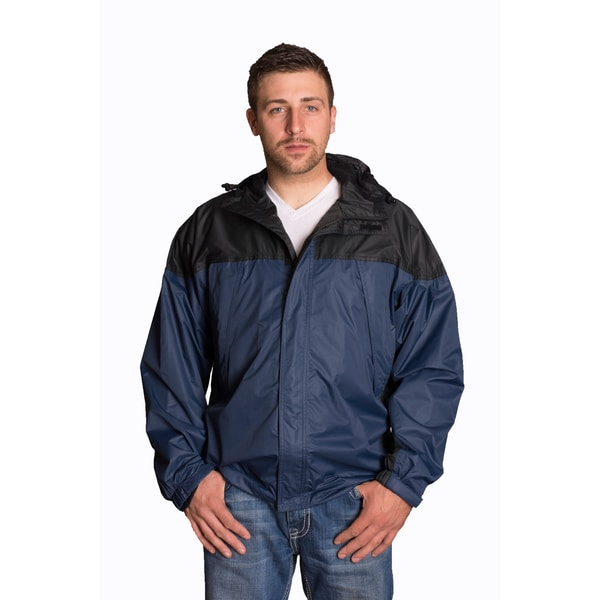 Mossi Black/ Navy Blue Excursion Jacket