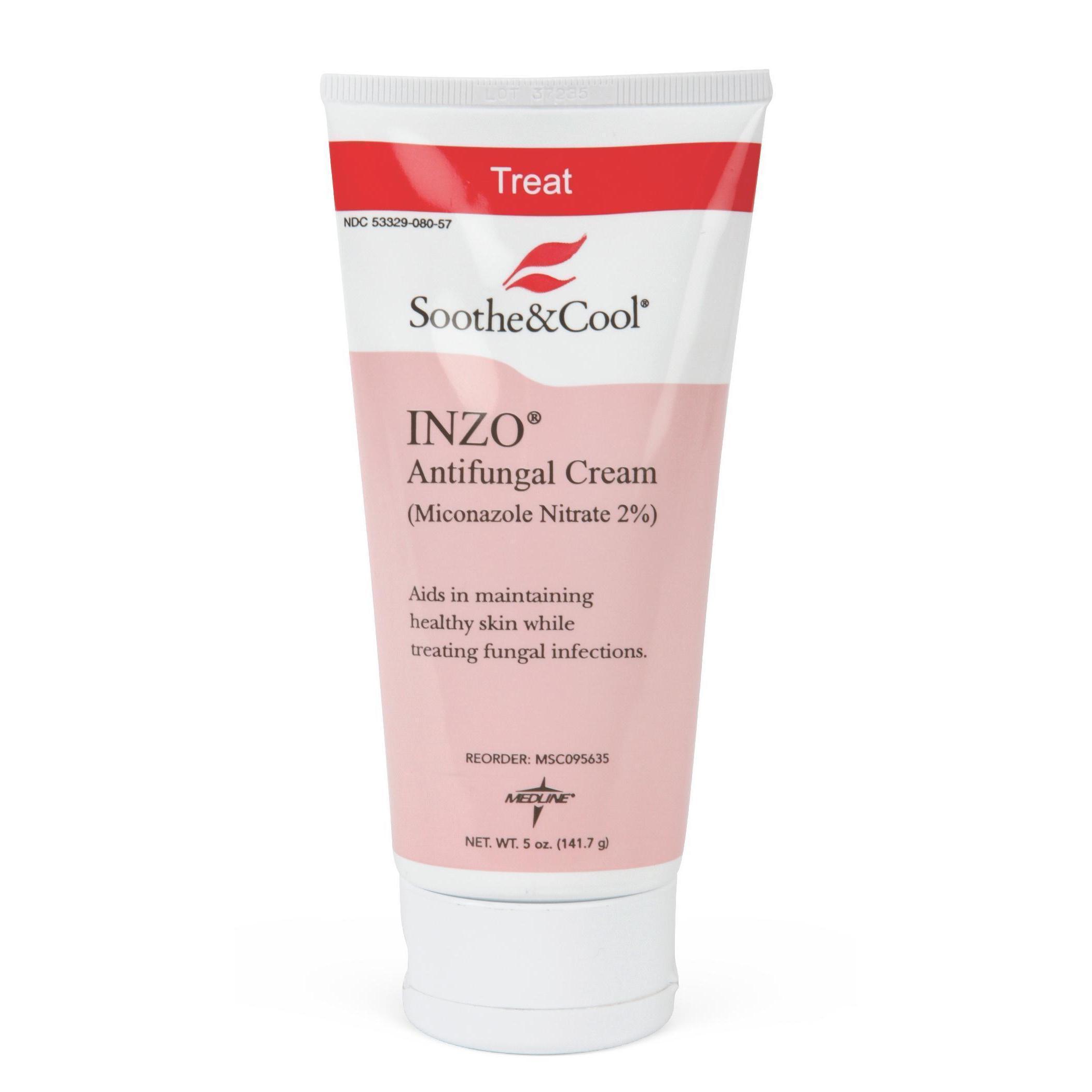 medline Soothe & Cool Inzo 5-ounce Antifungal Cream (Ivor...