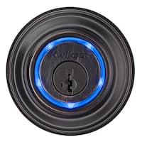 Kwikset 99250-003 925 Bronze Single Cylinder Bluetooth Enabled Kevo Deadbolt
