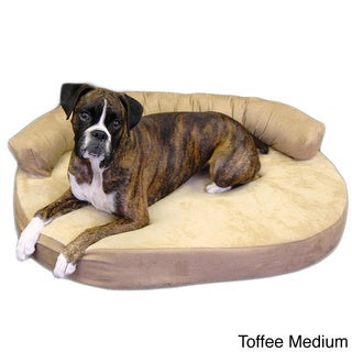 Integrity Orthopedic Memory Foam Joint Relief Bolster Dog Bed (Medium) - (As Is Item)
