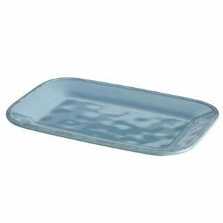 Rachael Ray Cucina Dinnerware 8-Inch x 12-Inch Stoneware Rectangular Platter