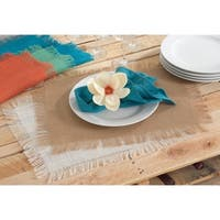 Fringed Jute Design Placemat (set of 4)