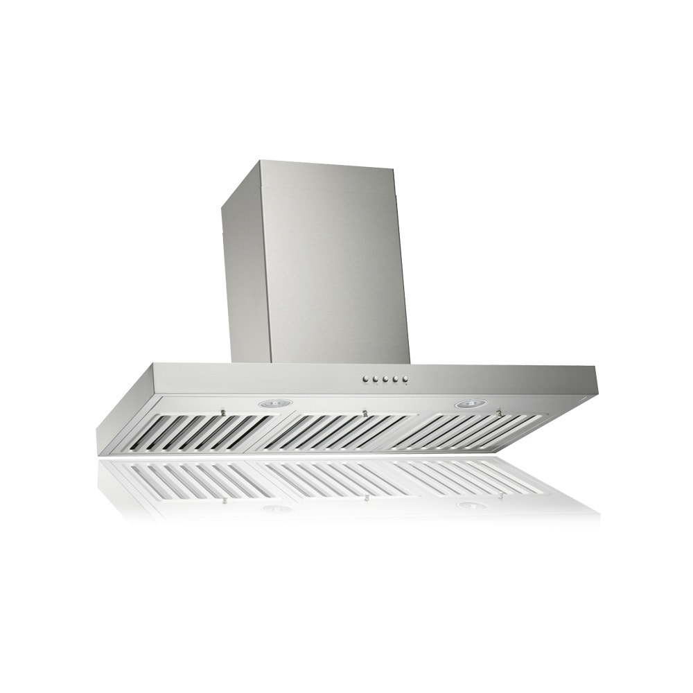 Brillia 30 Inch 750 Cfm Wall Mount Range Hood With Led Lights And Baffle Filters Overstock 10108120