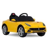 Rastar Ferrari F12 Rastar 12V Yellow Battery Operated/ Remote Controlled Car