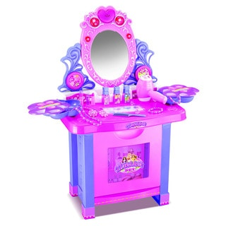 American Plastic Toys Deluxe Vanity Play Set Free Shipping Today Overstoc