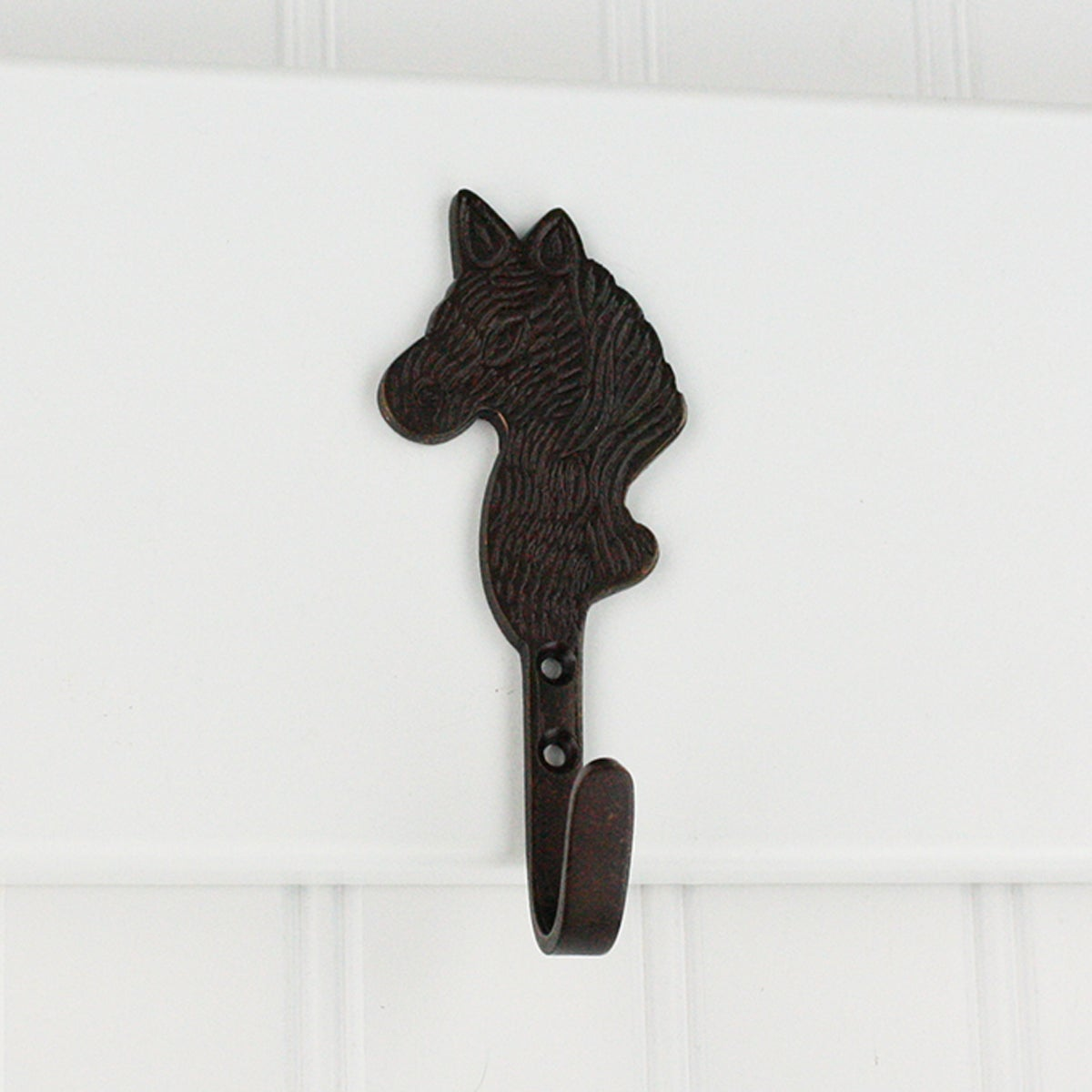 Highpoint Collection Oil Rubbed Bronze Horse Head Wall Ho...