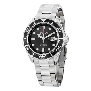 SO&CO New York Men's Quartz Yacht Club Watch with Stainless Steel Link Bracelet|https://ak1.ostkcdn.com/images/products/10108344/P17248378.jpg?_ostk_perf_=percv&impolicy=medium