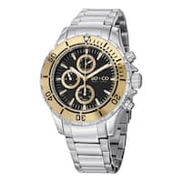 SO&CO New York Men's Yacht Club Quartz Watch with Stainless Steel Link Bracelet - Silver