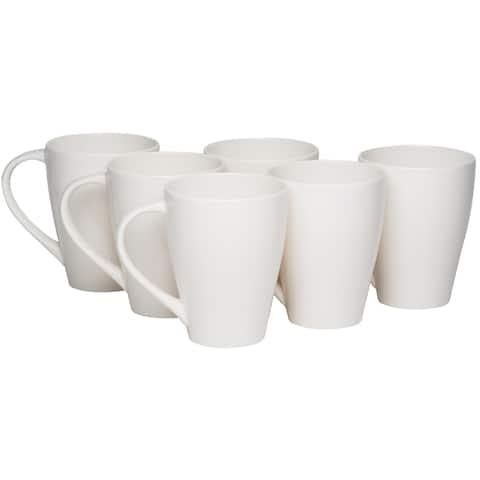 Whisper White Mug 14oz (Set of 6)
