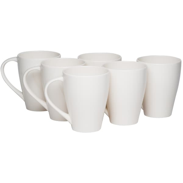Whisper White Mug 14oz (Set of 6)