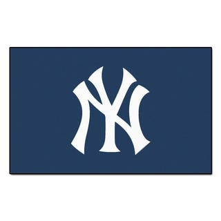 Fanmats Machine-made New York Yankees Blue Nylon Ulti-Mat (5' x 8')|https://ak1.ostkcdn.com/images/products/10108424/P17249023.jpg?impolicy=medium