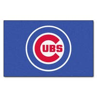 Fanmats Chicago Cubs Blue Nylon Ulti-Mat (5' x 8')