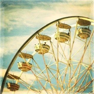 Marmont Hill Art Collective 'Ferris Wheel 2' Canvas art