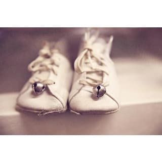 Marmont Hill Art Collective 'Baby's First Shoes' Canvas Art