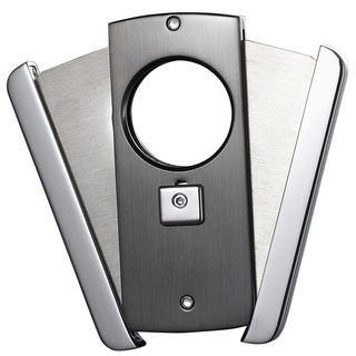 Visol Axe Double Blade Guillotine Cigar Cutter - Gunmetal