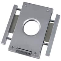 Caseti Churchill Brushed Metal Cigar Cutter