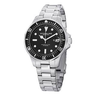 Stuhrling Original Men's Aquadiver Quartz Stainless Steel Bracelet Watch|https://ak1.ostkcdn.com/images/products/10108592/P17248417.jpg?impolicy=medium