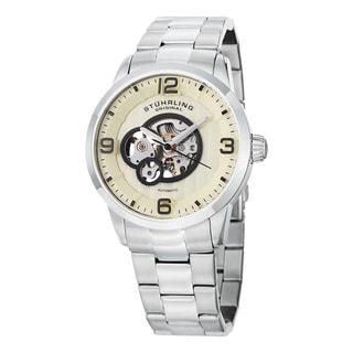Stuhrling Original Men's Delphi Automatic Stainless Steel Bracelet Watch