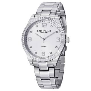 Stuhrling Original Men's Allure Swiss Quartz Stainless Steel Bracelet Watch|https://ak1.ostkcdn.com/images/products/10108604/P17248428.jpg?impolicy=medium