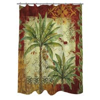 Palms Pattern V Shower Curtain