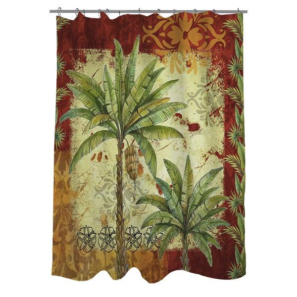 Palms Pattern V Shower Curtain