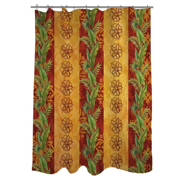 Palms Pattern VII Shower Curtain