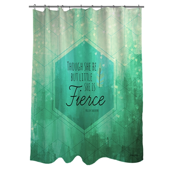 Little But Fierce Shower Curtain