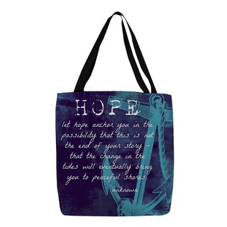 Let Hope Anchor You Tote