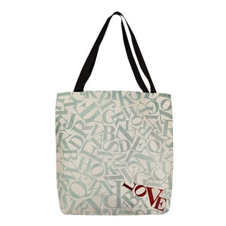 Thumbprintz Love Alphabet Jumble Tote