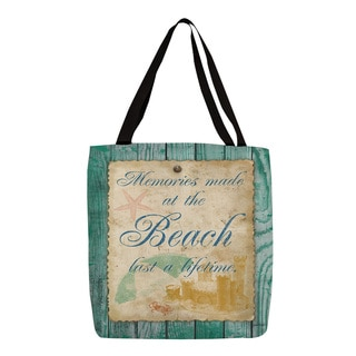 Thumbprintz Memories at the Beach Tote