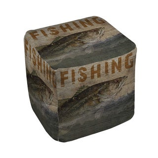 Thumbprintz Fishing Pouf