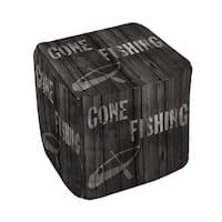 Gone Fishing Pouf