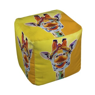 Thumbprintz Giraffe No 3 Pouf