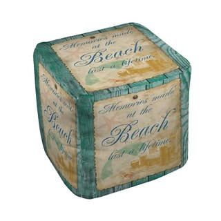Memories at the Beach Pouf (2 options available)