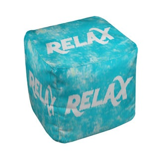 Sponge Paint Relax Pouf