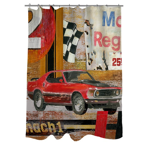 Shop Muscle Cars I Shower Curtain